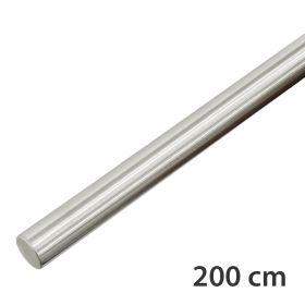 RVS Geborsteld Trapleuning 200 cm
