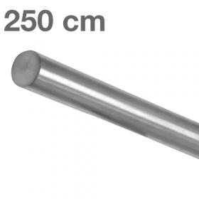 Main courante inox brossé 250 cm