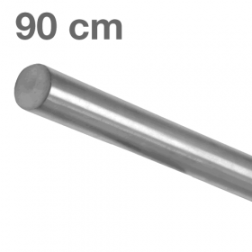 Main courante inox brossé 90 cm