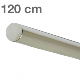 Main courante inox poli 120 cm