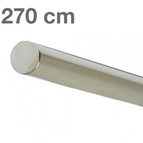 Main courante inox poli 270 cm