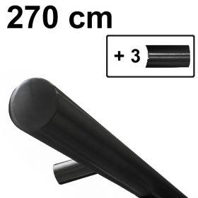 zwart design trapleuning 270 cm