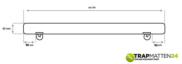 rvs-trapleuning-60cm